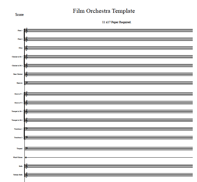 ... make the viewing and printing of your sheet music templates easier